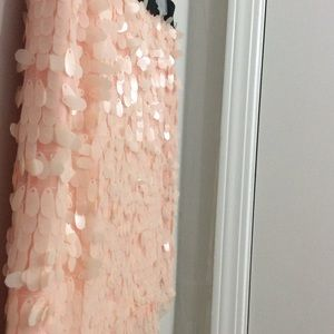 sequin mini skirt